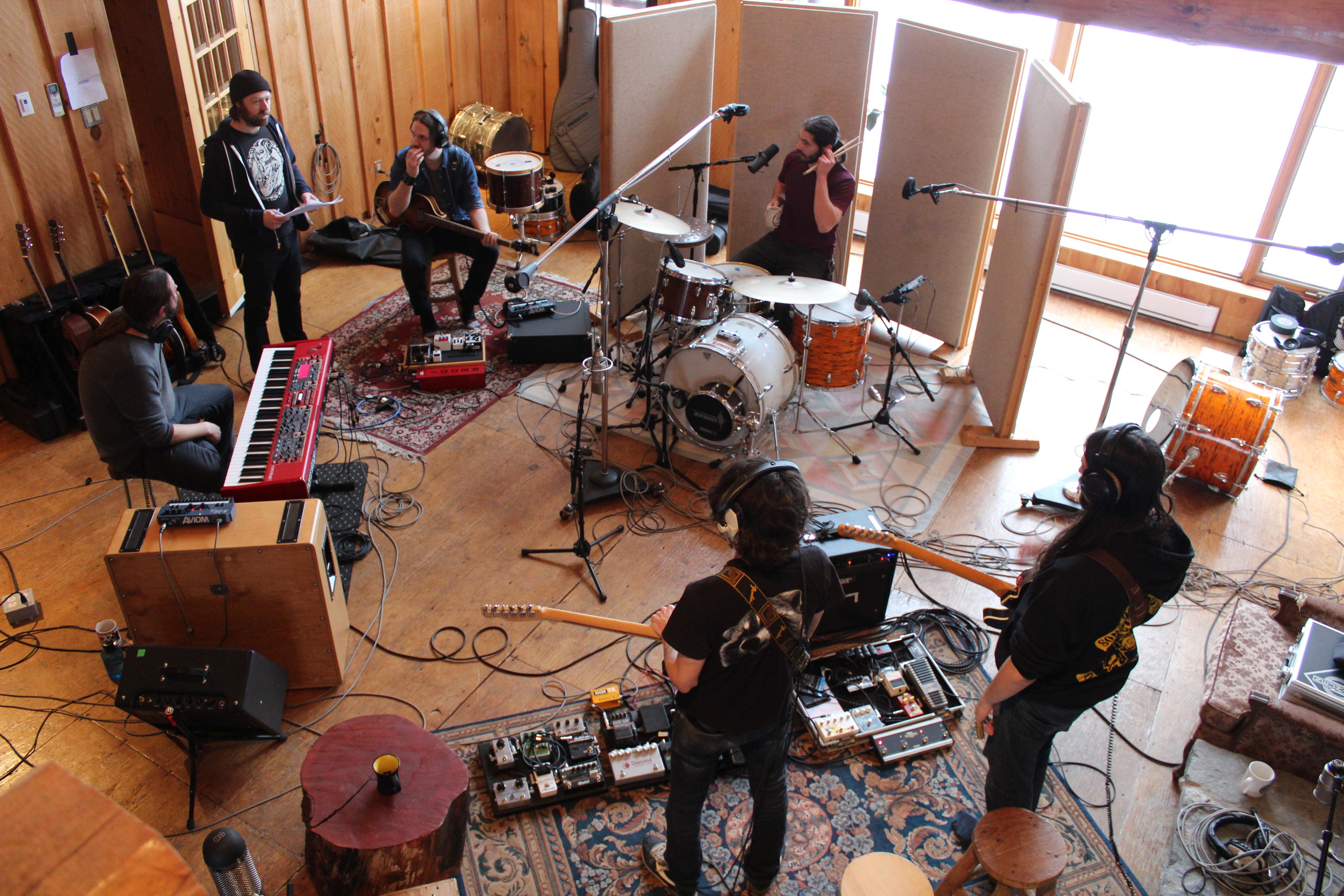 De retour en studio!